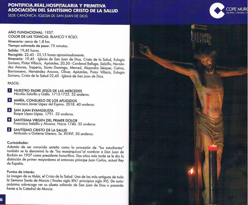 El silencio y la tradición se adueñan de Murcia en la tarde del Martes Santo