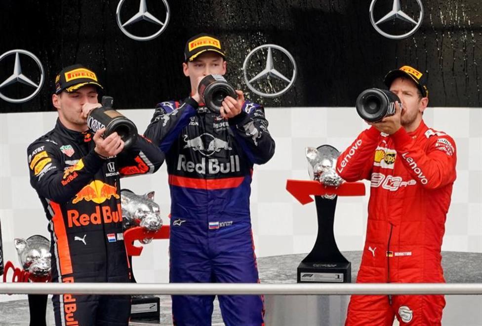 Podio GP de Alemania 2019