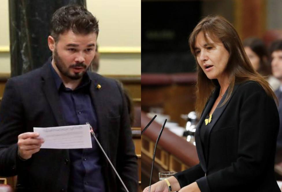 Los diputados de ERC y JxCat no irán a trabajar al Congreso por la Diada