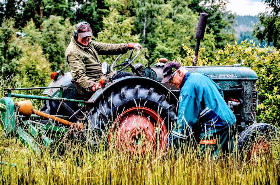 viejos agricultores