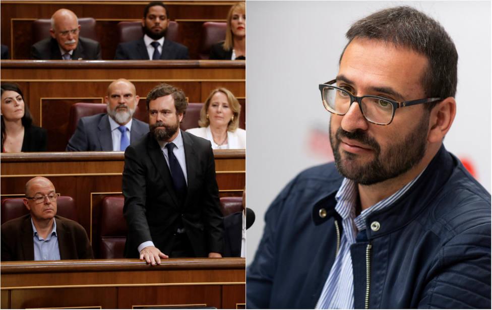 """Un diputado de Vox deja K.O a otro del PSOE cuando le pide que demuestre que es """"de la España que madruga"""""""