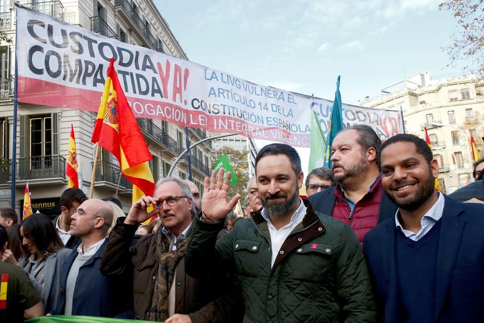 Manifestación del Día de la Constitución en Barcelona