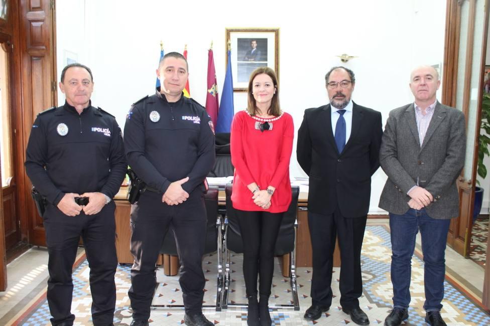 Felipe Mula toma posesión de su cargo como inspector de la Policía