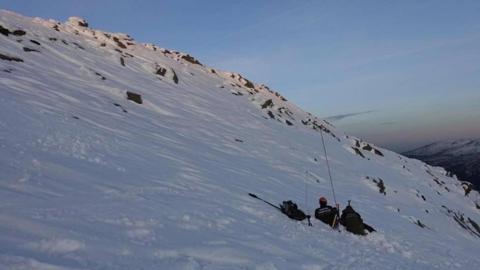 Nivel 3 de riesgo de aludes en la Sierra
