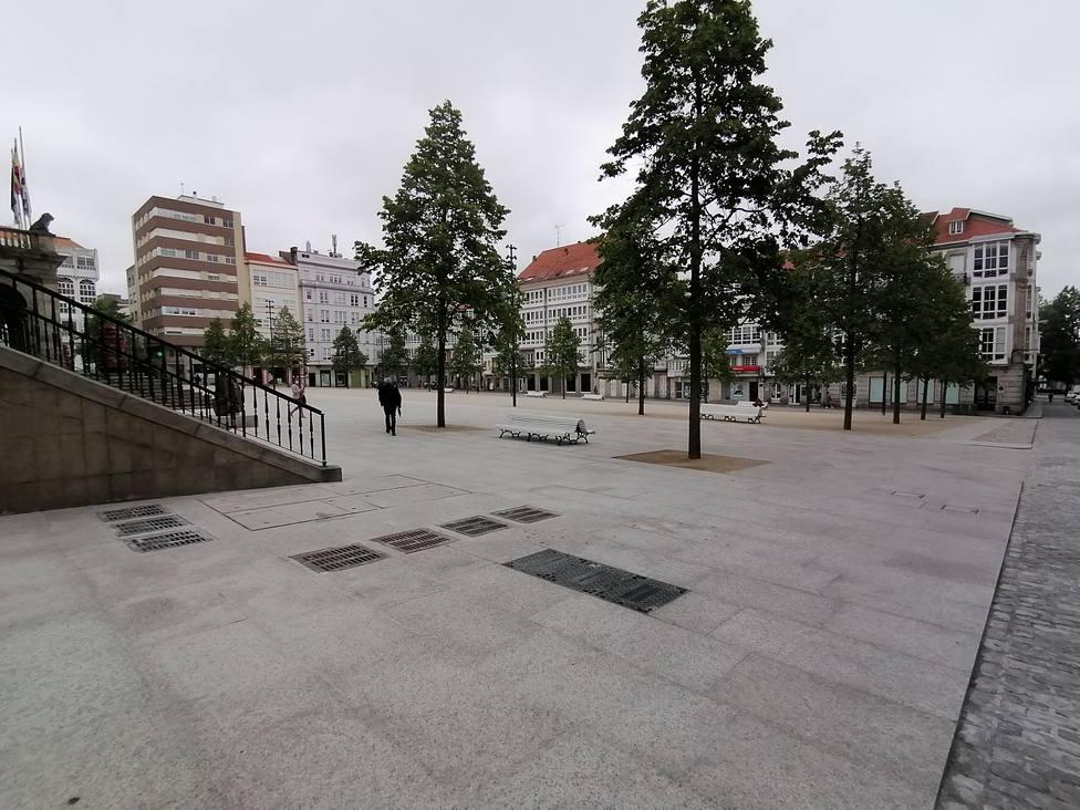 Plaza de Armas tras la reforma
