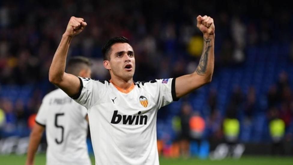 Maxi celebra un gol