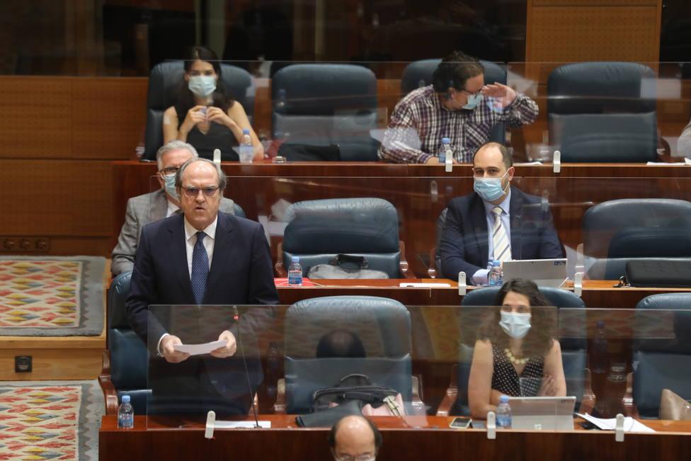 Gabilondo no descarta una moción a Ayuso: En este momento no se dan las condiciones de mayoría suficiente