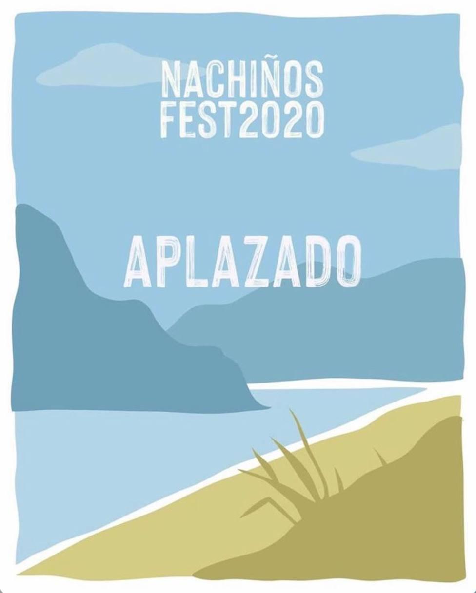 El festival iba a celebrarse el 21 y 22 de agosto - FOTO: Instagram Nachiños Fest