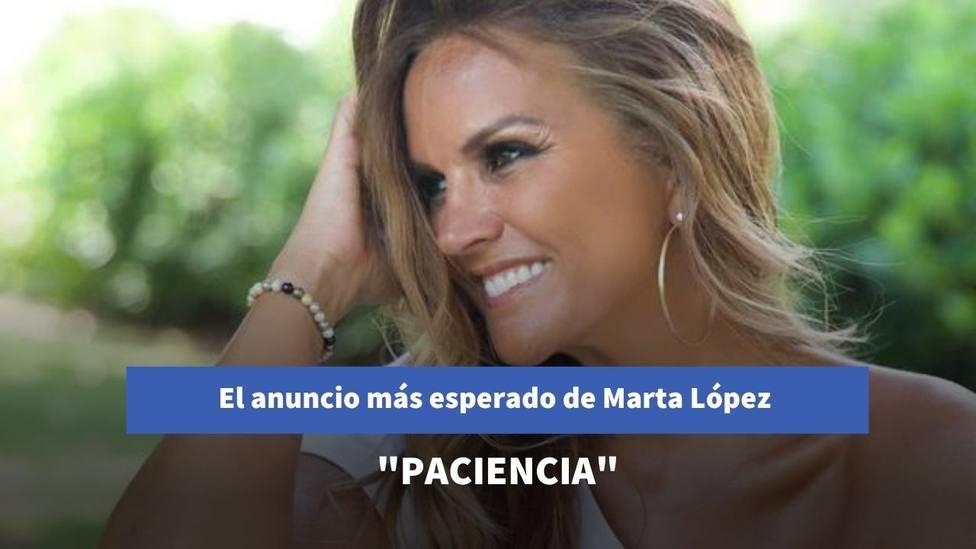 El anuncio más esperado de Marta López tras su despido de Mediaset