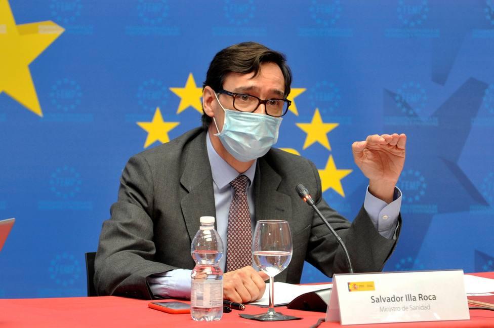 Sanidad no contempla medidas conjuntas con las comunidades vecinas a Madrid