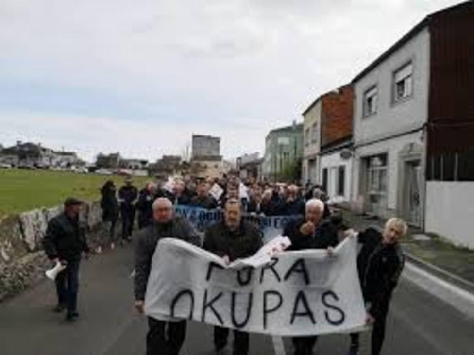 Un informe policial confirma la ocupación ilegal de 14 inmuebles en Lugo