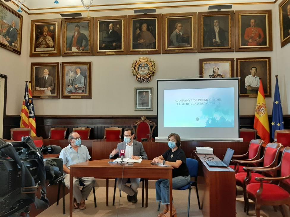 El Ayuntamiento de Maó presenta la nueva campaña de promoción del comercio y la restauración del municipio