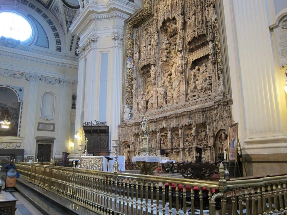 Basílica del Pilar. Altar mayor