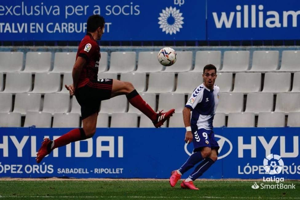 El Sabadell de Juan Hernández sigue sin lograr la primera victoria