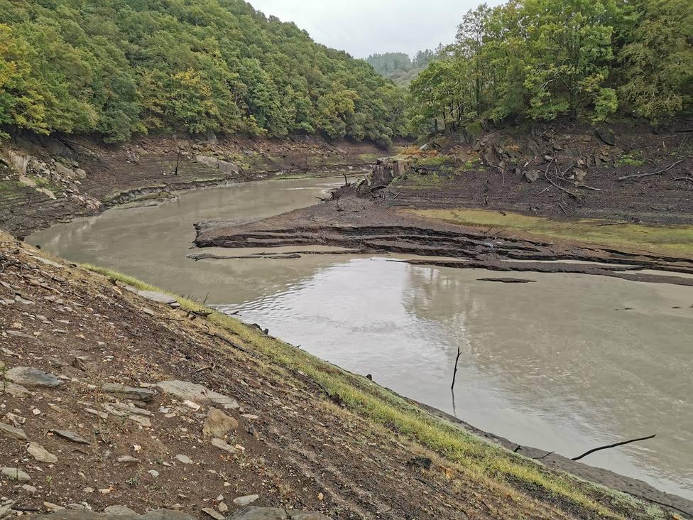 Estado que presenta estos días el río Eume - FOTO: Colectivo Terra Pontedeume