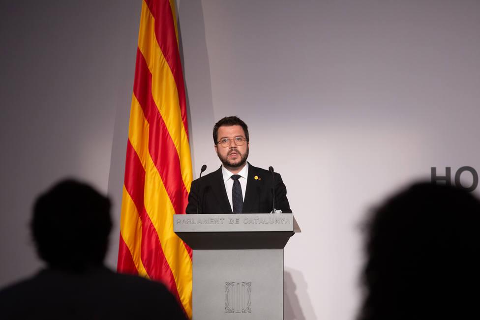 Aragonès representará al Govern en la conferencia de presidentes del lunes
