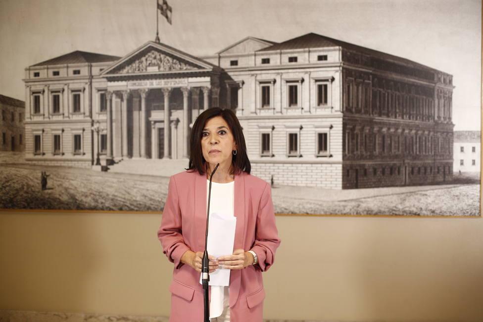 La europarlamentaria del PNV electa, Izaskun Bilbao