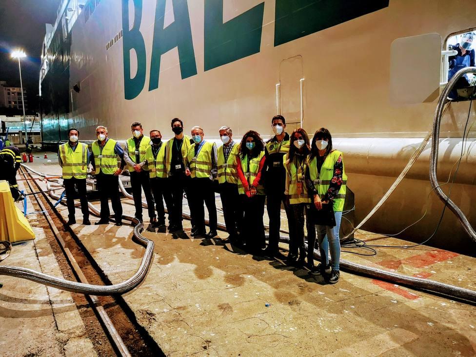 Primer 'bunkering' de gas natural licuado en el Puerto de Almería