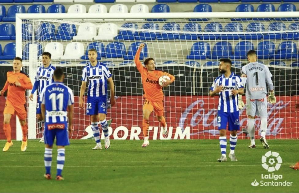 Vallejo cambió el partido tras su entrada al campo