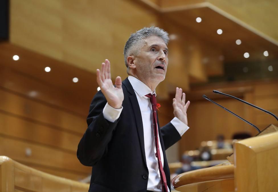 Marlaska considera que Otegi debería dejar de liderar a EH Bildu
