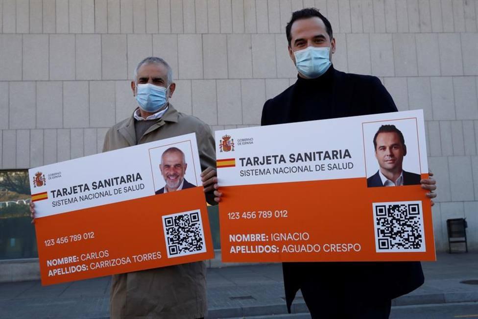 Aguado: la reducción del número vacunas es un jarro de agua fría para Madrid
