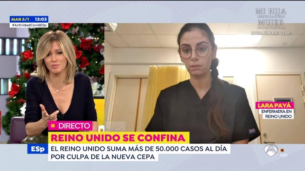 Una enfermera habla desde Reino Unido sin cortarse y avisa sobre la realidad de España: No tengo dudas