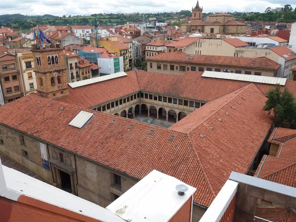 Foto del edificio histórico de la Universidad de Oviedo