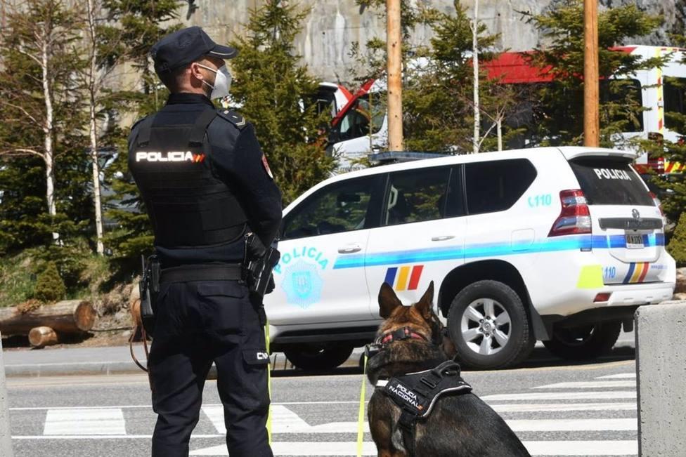 V�DEO: Policía y Guardia Civil se despliegan en Andorra dentro del dispositivo de seguridad de la Cumbre Iberoamericana