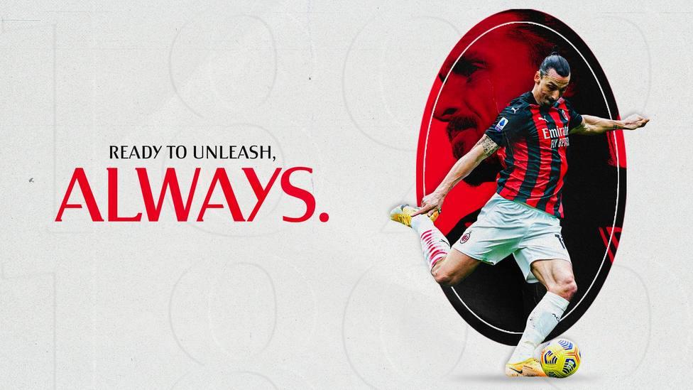 Ibrahimovic renueva con el Milan una temporada más