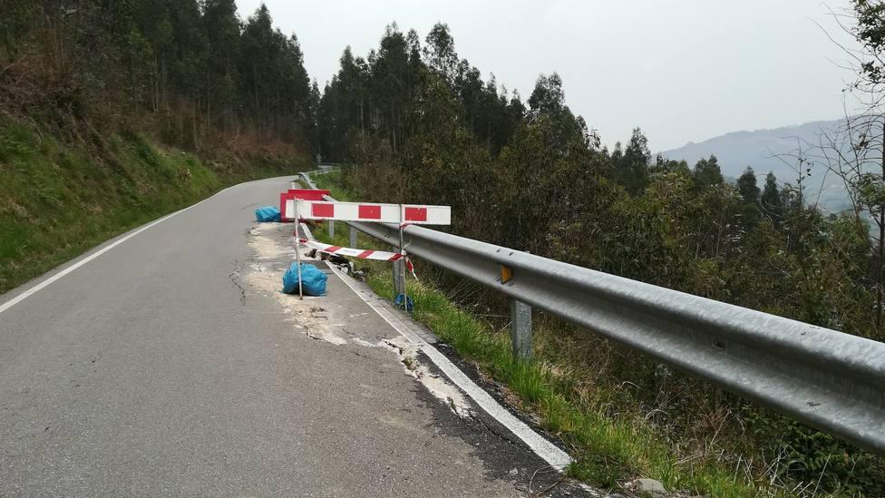 Estado de la carretera AS-331