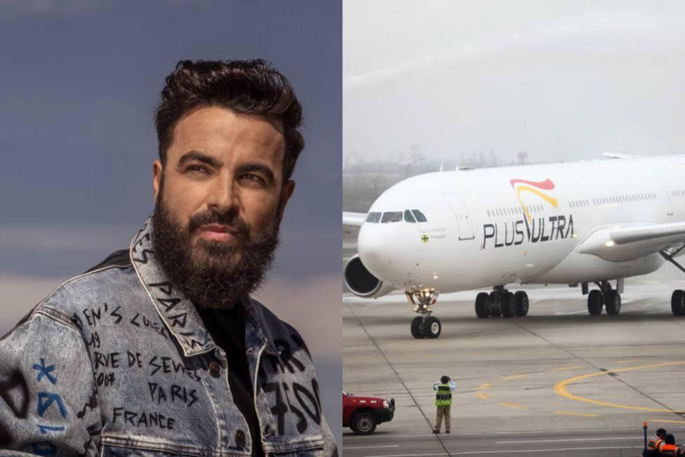 El irónico comentario del cantante Huecco tras la previsión de la aerolínea Plus Ultra: Será por dinero...