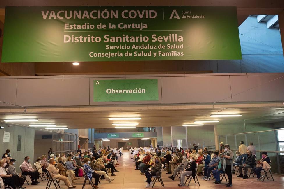 Sevilla.- Cvirus.- Salud organiza la vacunación en el estadio de La Cartuja para que sea compatible con la Eurocopa
