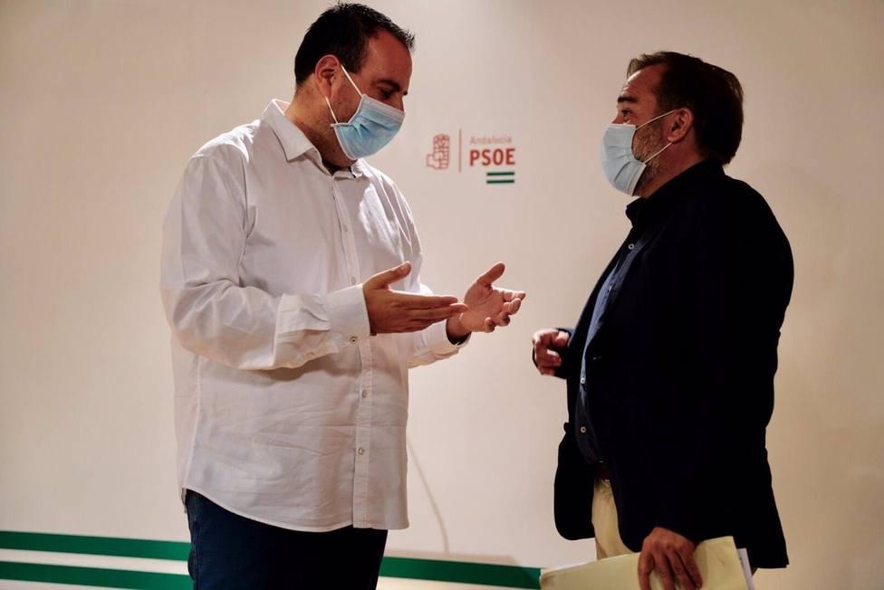 Granada.- PSOE descarta gobernar con Luis Salvador (Cs): Con él no vamos ni al tranco de la puerta