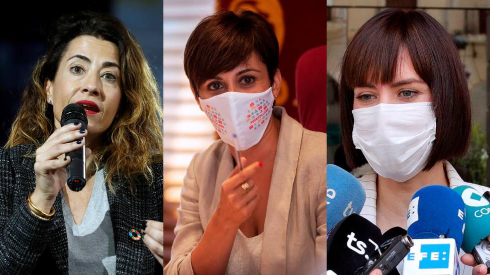 Morant, Sánchez y Rodríguez abandonan las alcaldías para ser designadas ministras de Sánchez