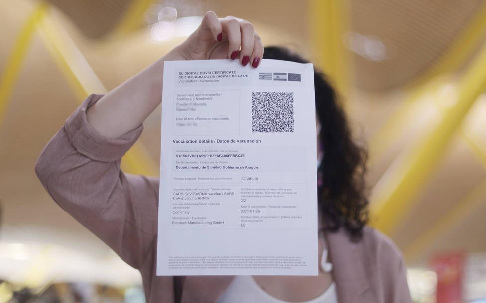 España alcanza ya los 7,5 millones de pasaportes covid emitidos