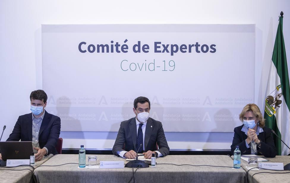 Andalucía plantea un toque de queda de 2 a 7 horas en aquellos municipios que superen los 1.000 casos