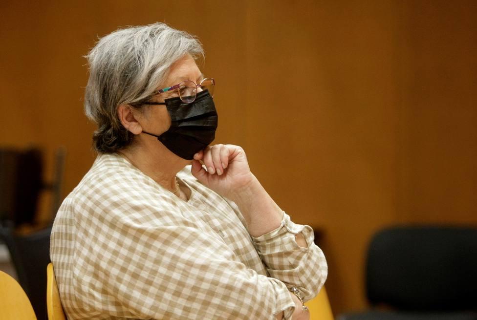 Mariela Aguilar, exedil del BNG en Fene en la Audiencia Provincial de A Coruña - FOTO: EFE / Cabalar