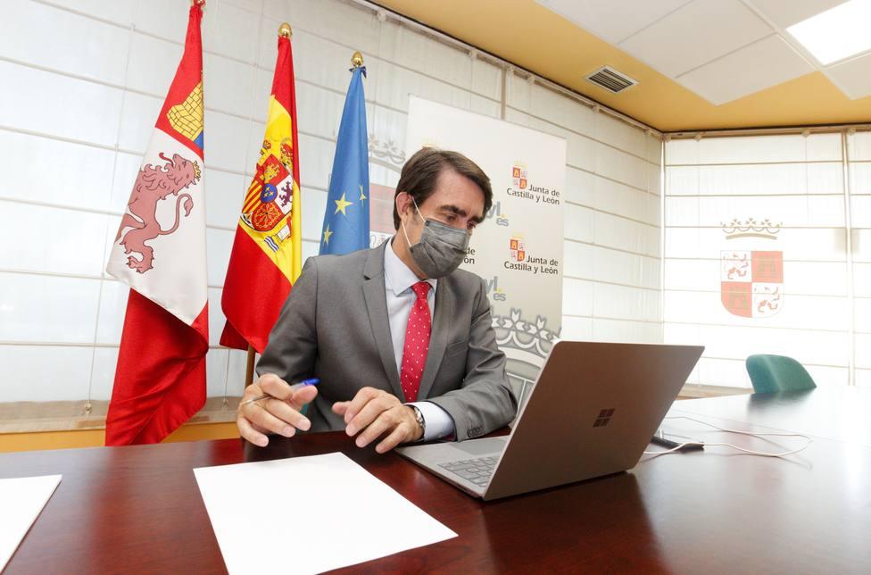 Juan Carlos Suárez-Quiñones, consejero de Fomento y Medio Ambiente de Castilla y León