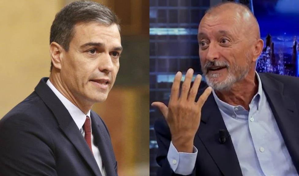 Pérez-Reverte le hace un traje a Pedro Sánchez ante la atenta mirada de Pablo Motos: Es malo y es un chulo