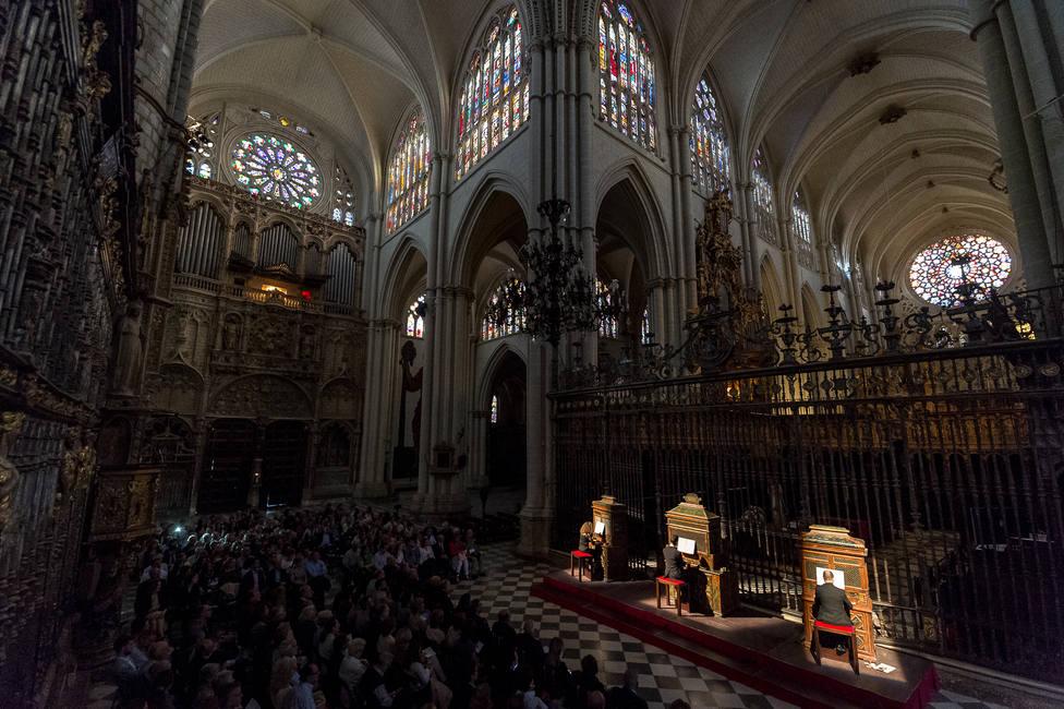 El VII Festival de Música El Greco en Toledo celebra una nueva Batalla de Órganos