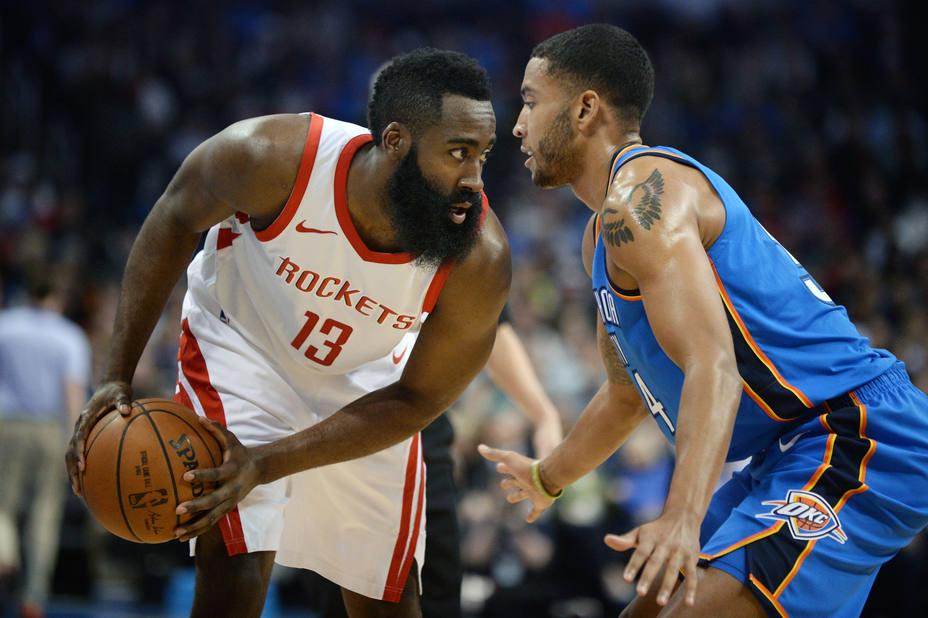 Los Rockets suman su 16ª victoria seguida a costa de los Thunder