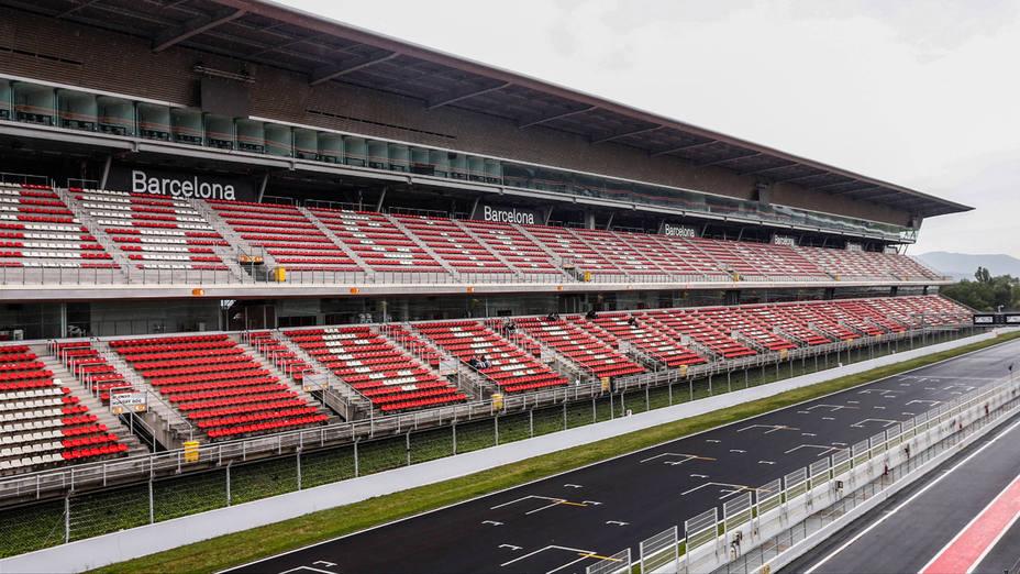 Imagen del Circuito de Montmeló, en Barcelona. CORDON PRESS