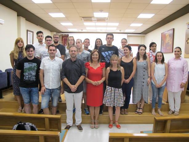 Benicarló contrata a dieciocho jóvenes con el programa Avalem Joves +