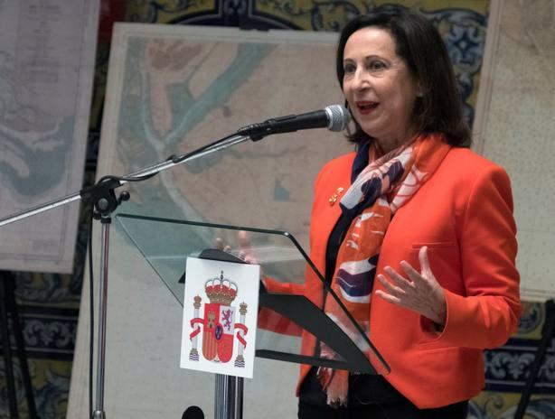 La ministra de Defensa de España, Margarita Robles
