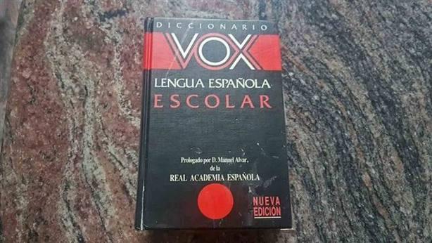 """La editora de los diccionarios Vox: """"Nos toca las narices que haya un partido con este nombre"""""""