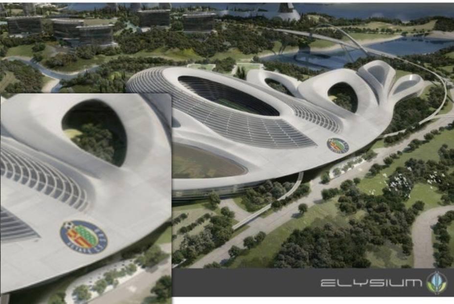 imagen del complejo Elysium City del proyecto de Cora Alpha