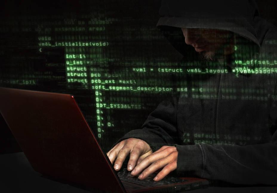 Imagen de posible ciberataque