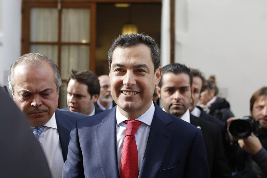 Moreno anuncia este lunes a las 11,30 horas en San Telmo la composición del nuevo Gobierno andaluz