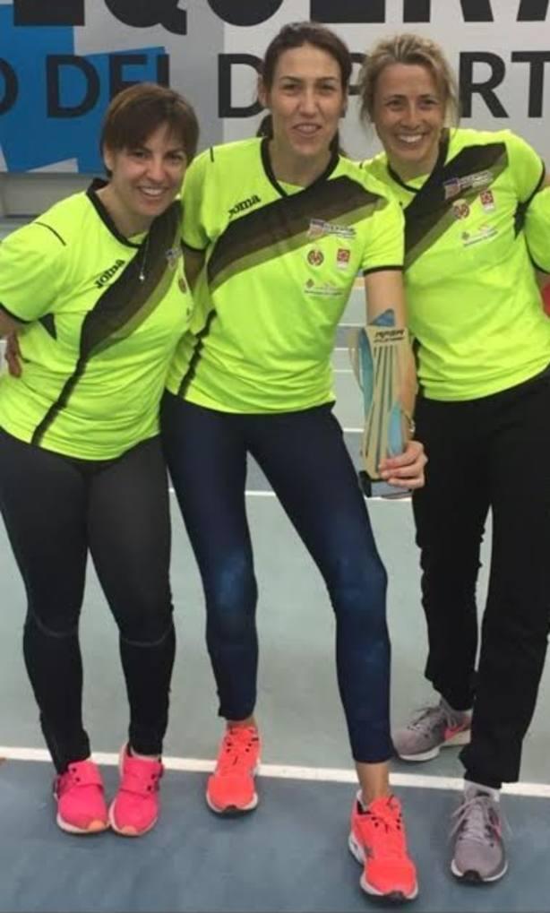 Olga, Raquel y Silvia se proclaman Campeonas de España
