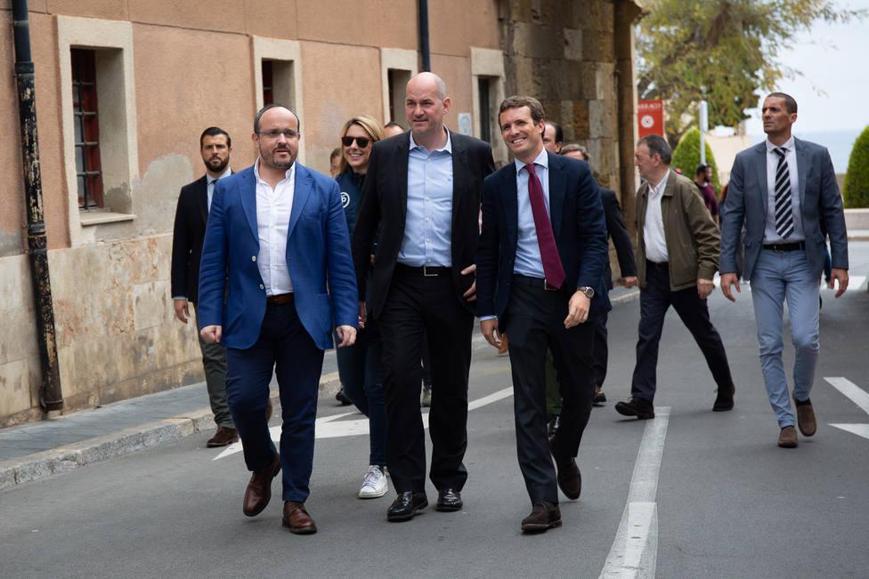 Casado anuncia que los alcaldes del PP actuarán frente al vandalismo en sus ciudades como Giuliani en Nueva York